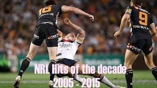 The biggest NRL hits of the last ten years