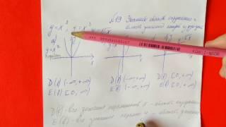 19 Алгебра 9 класс Укажите область определения, область значения функции квадратичная функция