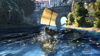 The Witcher 3 PC / Windows 10 / Boat Gameplay SweetFX  GTX 980 1080p
