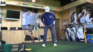 Hip Sway Golf Drill with Mark Crossfield