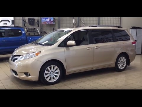 2013 Toyota Sienna XLE AWD Review