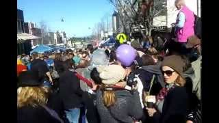RAW FOOTAGE!!!! Katoomba Winter Festival Before Parade 2014
