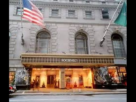 The Roosevelt Hotel New York City - YouTube