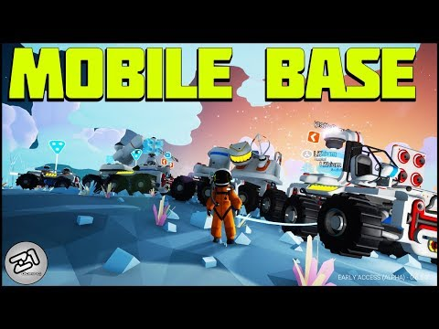 Building the MOBILE BASE! Astroneer Update 6.5 | Z1 Gaming