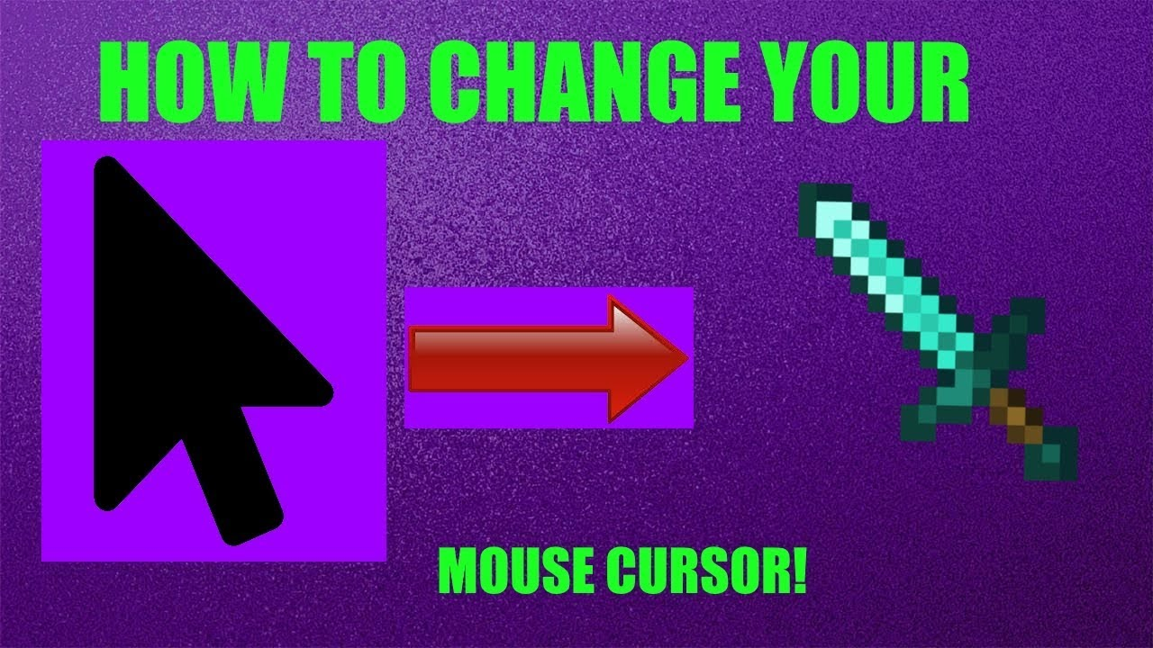 how to change mouse cursor in windows 7