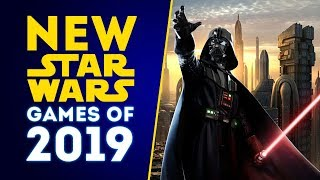 New Star Wars Games Of 2019! Open World Star Wars Game Full Reveal Coming?