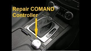 Mercedes W204 W212 C E Class Repair Scolling Knob COMAND Console Control Wheel Command