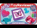 Artsi Fabric by Number Patch Maker Craft Kit Plush Orb Factory Unboxing Toy Review by TheToyReviewer