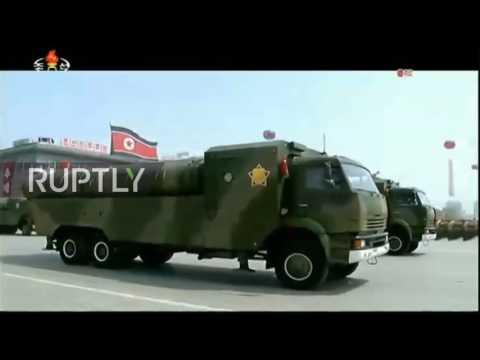 North Korea: Pyongyang showcases Pukkuksong-2 ballistic missiles at military parade