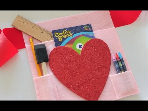 Creative Galaxy: DIY Creative Heart Day Tool Belt For Kids