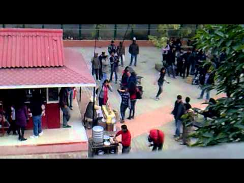 rockstar shooting in hindu college,d.u.