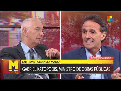 Katopodis: El endeudamiento no está ni en obras ni en puertos