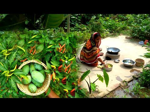 AAM PANA RECIPE !!! Village Style Green Mango Recipe for Summer Healthy Prepared by Grandmother