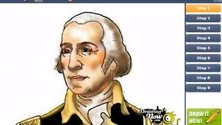 How to Draw George Washington