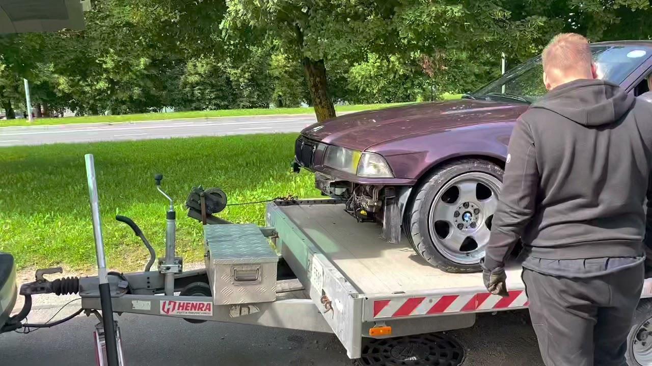 BMW E36 V8 IN FIRE 🔥