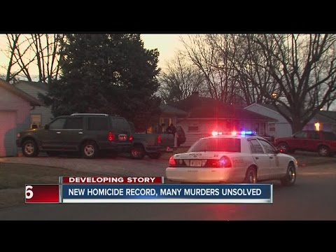 New homicide record in Indianapolis