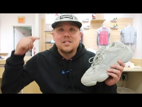 c60be0eb655c7 adidas Yeezy 500 Salt Sneaker Detailed Review By Kanye West  yeezy   kanyewest  sneakerhead