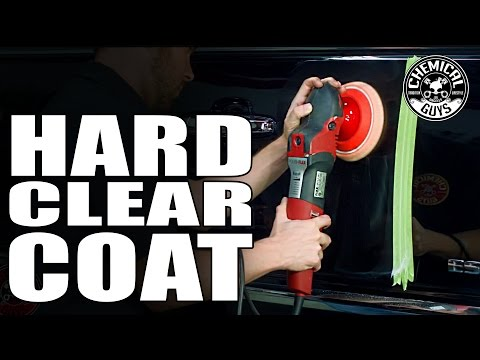 How To Machine Polish Hard Clear Coat Paint - Chemical Guys