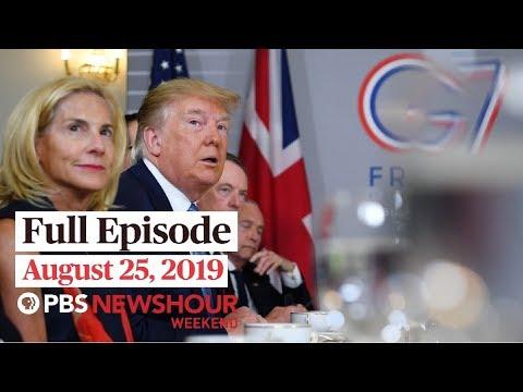 PBS NewsHour: PBS NewsHour Weekend full episode August 25, 2019