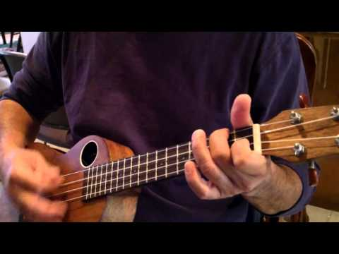 Simple Ukulele Chords -- I Never Cry