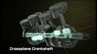 La technologie Yamaha R1 Cross Plane expliquee en musique
