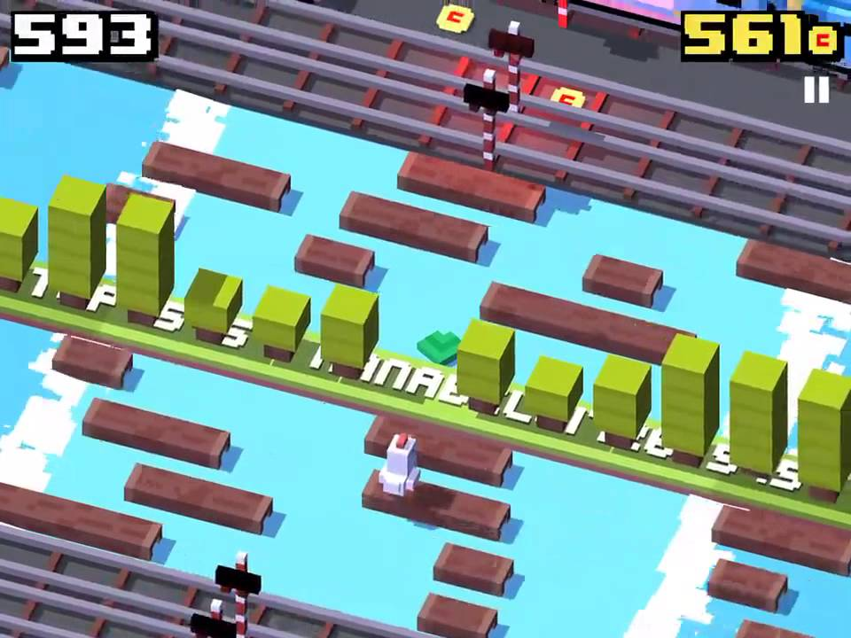 Crossy Road world record! Highest score ever! (1000 ...