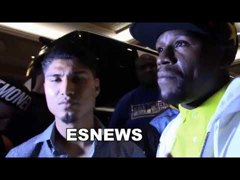 Tyson Sugar Ray Leonard AND Floyd Talk Mikey Garcia EsNews Boxing