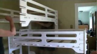 Triple Bunk Bed Made With The Shopbot Cnc Router