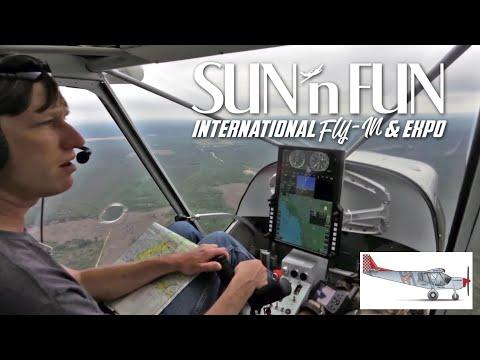Zenith STOL CH 750 Super Duty arrives at Sun 'n Fun 2018 in Lakeland, Florida: Landing on Runway 9R