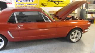 1965 Mustang Coupe walk around