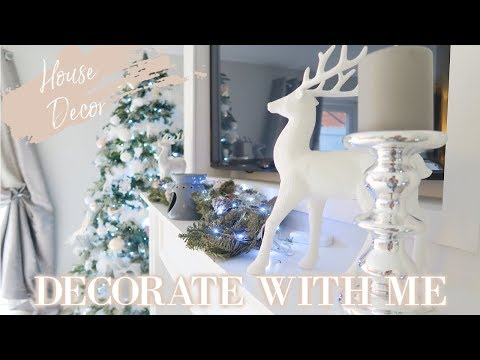DECORATING MY HOUSE FOR CHRISTMAS 2018   DECORATE WITH ME   CHRISTMAS DECOR IDEAS   MRS SMITH & CO.