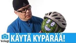 Pyöräilykypärän merkitys | Törmäys kypärän kanssa ja ilman