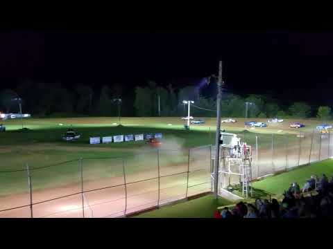 Monett Speedway Pure Stock Feature Part 1 8/25/17