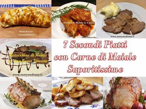 7 Secondi Piatti con Carne di Maiale Saporitissime