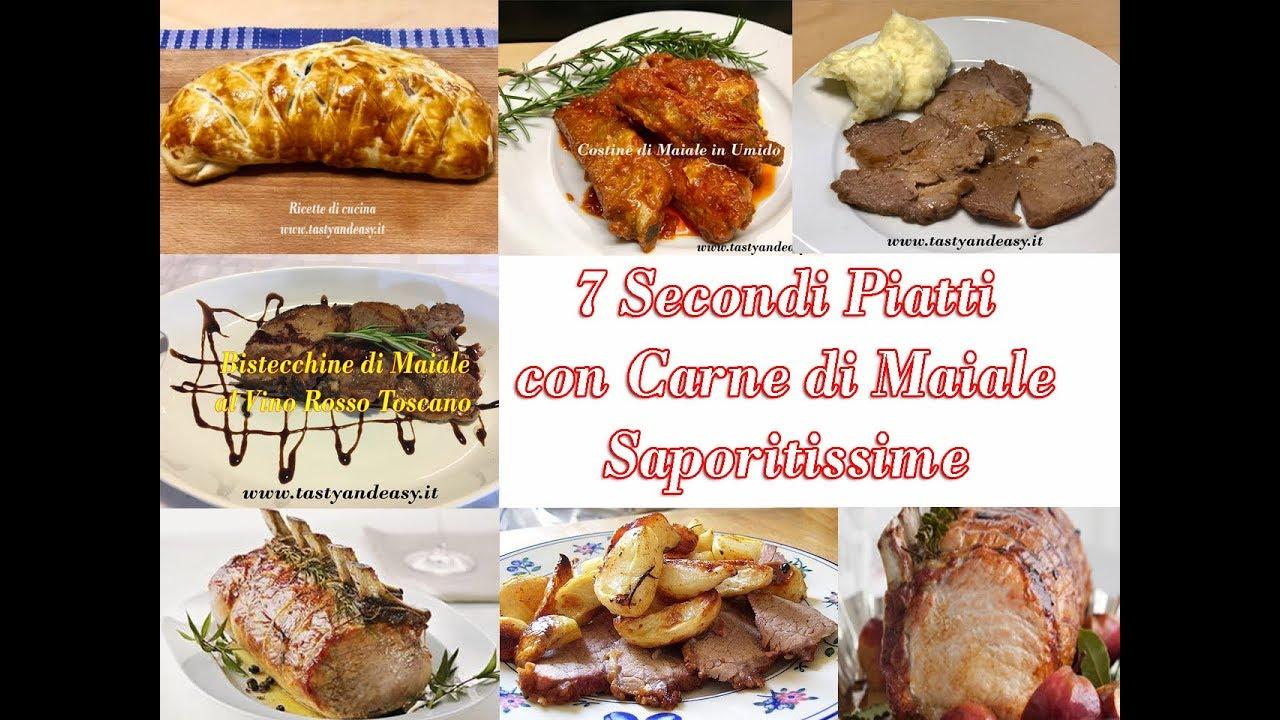 7 secondi piatti con carne di maiale saporitissime youtube for Secondi di carne