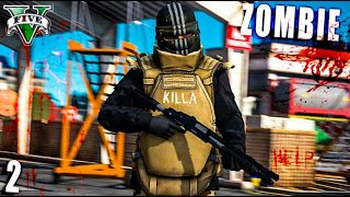 BLINDAJE ANTI-ZOMBIE Y BASE MILITAR !! GTA 5 ZOMBIES APOCALYPSE MODS # 2