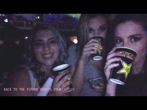 BACK TO THE FUTURE HEARTS TOUR || MoreLeila