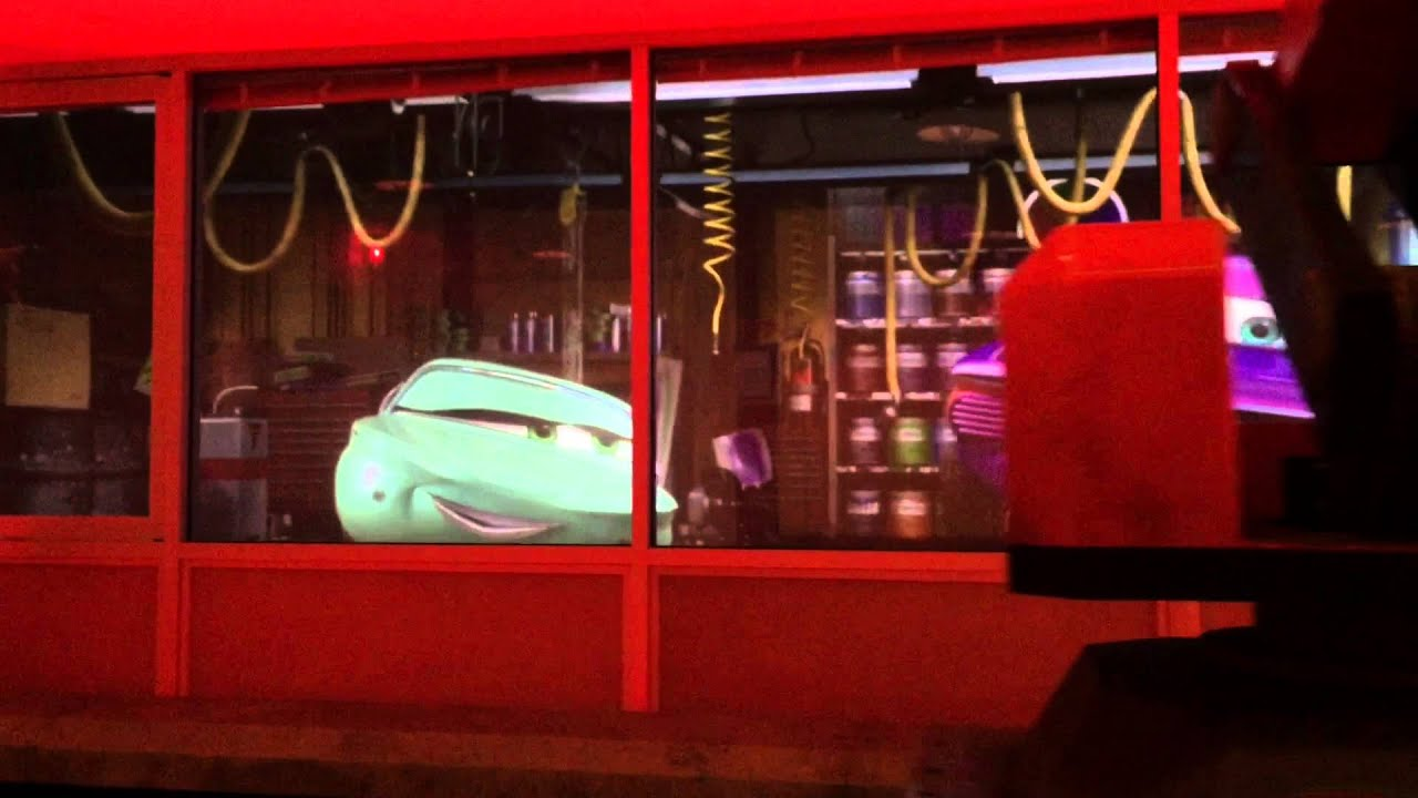 Radiator Springs Racers Ramone S House Of Body Art Youtube