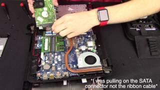 HP Laptop SSD Upgrade