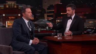 "Deleted Scene from 'Batman v Superman"" Starring Jimmy Kimmel"