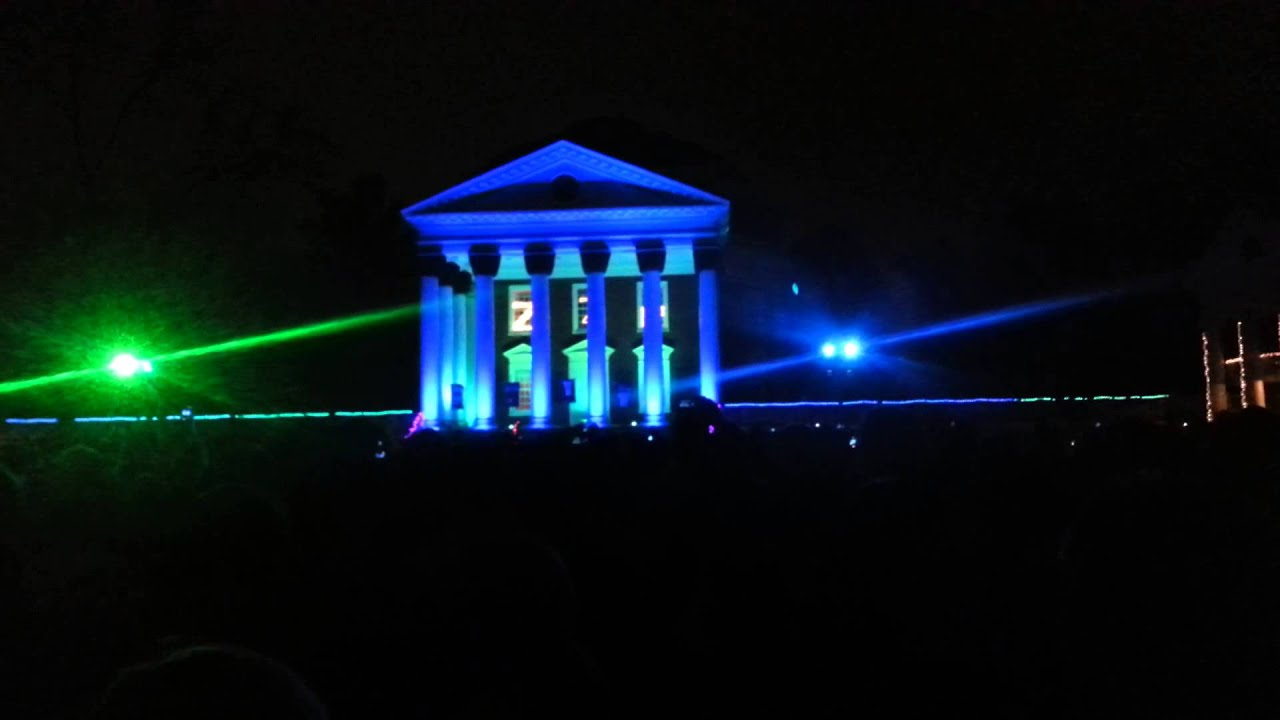 & UVA Lighting of the Lawn- Canu0027t Hold Us - YouTube