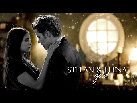 stefan + elena | gold