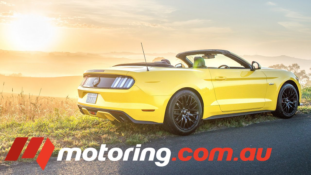 2016 Ford Mustang Gt Convertible Review