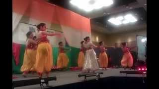 Hema Malini - Dream Girl and Veer Zaara - ICC Dance Competition 2nd Place