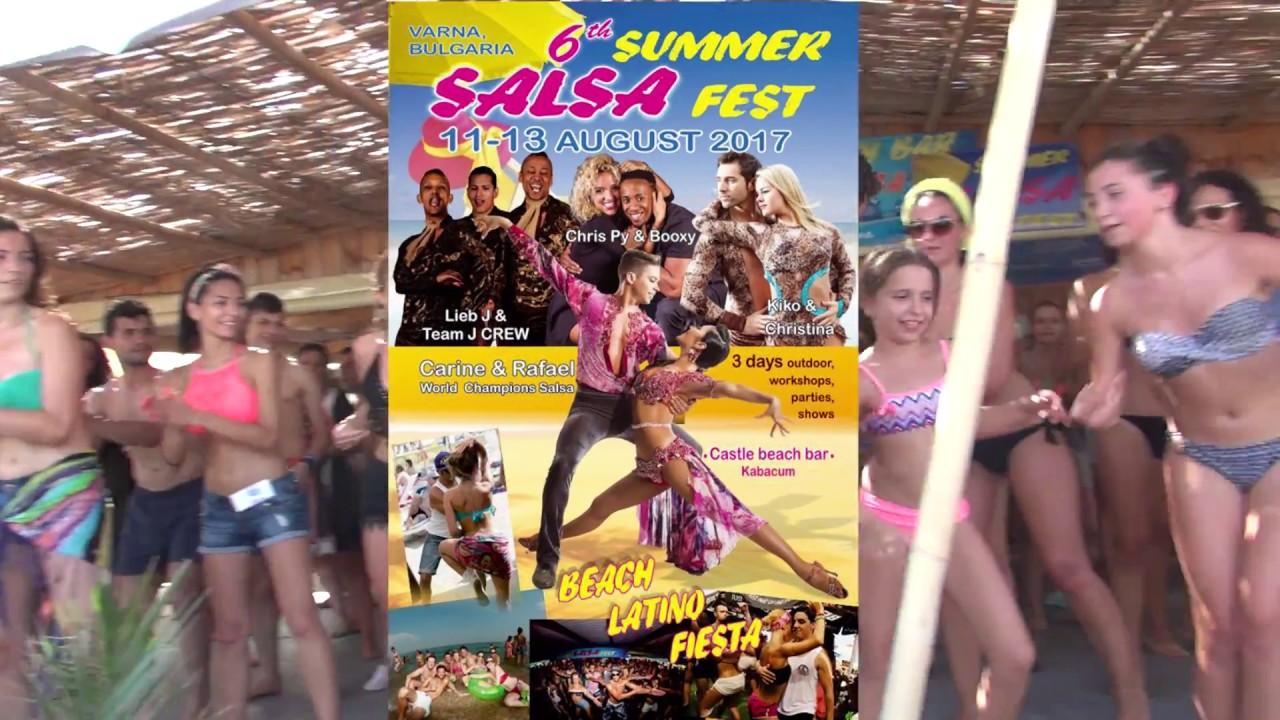 psy - gangnam style @ 6th summer salsa fest varna 2017