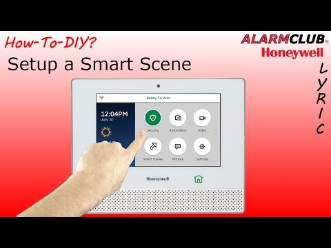 Honeywell Lyric Controller - How to Setup a Smart Scene?