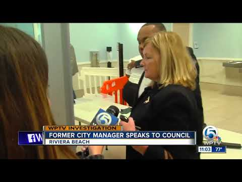Former City Manager Jonathan Evans Speaks To Council