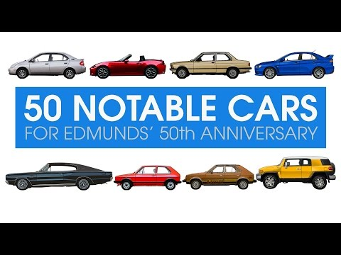 50 Notable Cars For Edmunds' 50th Anniversary