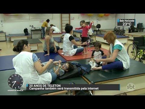 Nos 20 anos do Teleton, campanha terá transmissão especial para a internet | SBT Brasil (02/17/17)