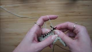 Fabel Knitwear - Simple increase